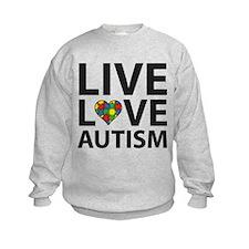 Live Love Autism Sweatshirt