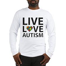 Live Love Autism Long Sleeve T-Shirt