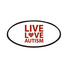 Live Love Autism Patches