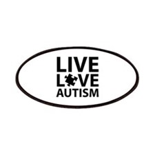 Live Love Autism Patches