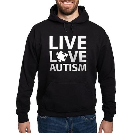 Live Love Autism Hoodie (dark)