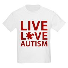 Live Love Autism T-Shirt