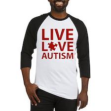 Live Love Autism Baseball Jersey