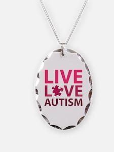 Live Love Autism Necklace