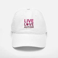 Live Love Autism Baseball Baseball Cap
