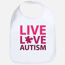 Live Love Autism Bib