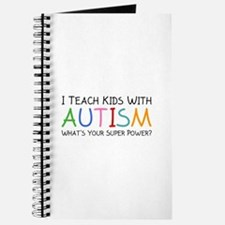 I Teach Kids With Autism Journal