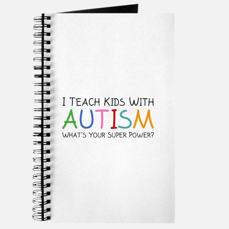 I Teach Kids With Autism Journal