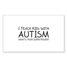 I Teach Kids With Autism Decal