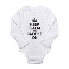 Keep Calm Paddle On Body Suit