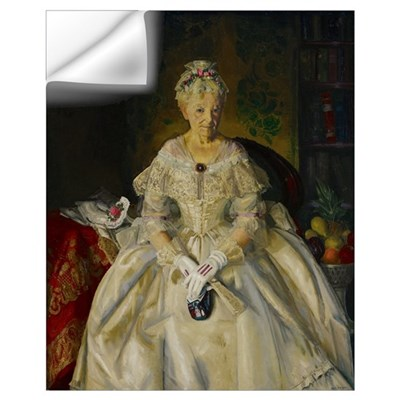 Mrs. T. in Cream Silk, No.2, 1920 Wall Decal