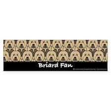 Briard Fan Bumper Bumper Sticker