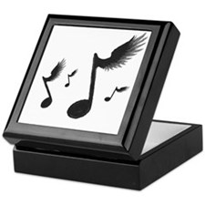Flying Notes Keepsake Box