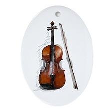 The New Viola Oval Ornament