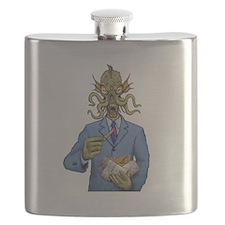 Keith Hulu figure Flask