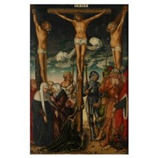 The Crucifixion, c.1575 Poster