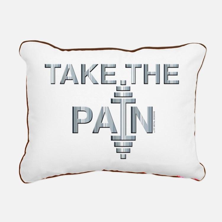 TAKE THE PAIN (large design) Rectangular Canvas Pi