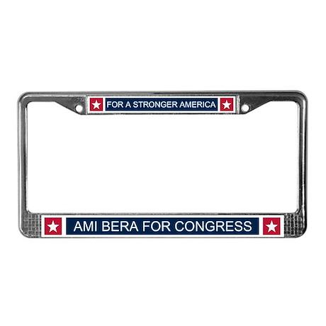 Elect Ami Bera License Plate Frame