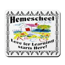 Homeschool Learning Mousepad