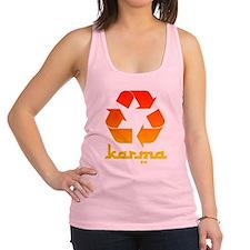 karma.png Racerback Tank Top