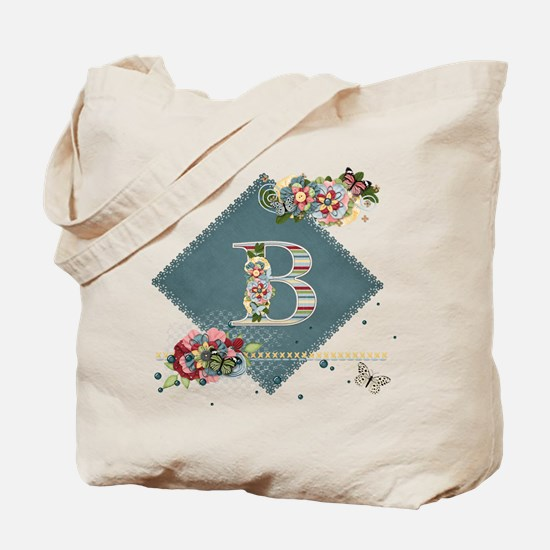 Dreamland Monogram B Tote Bag