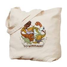 I Heart Dinosaurs Tote Bag