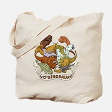 I Heart Dinosaurs Tote Bag