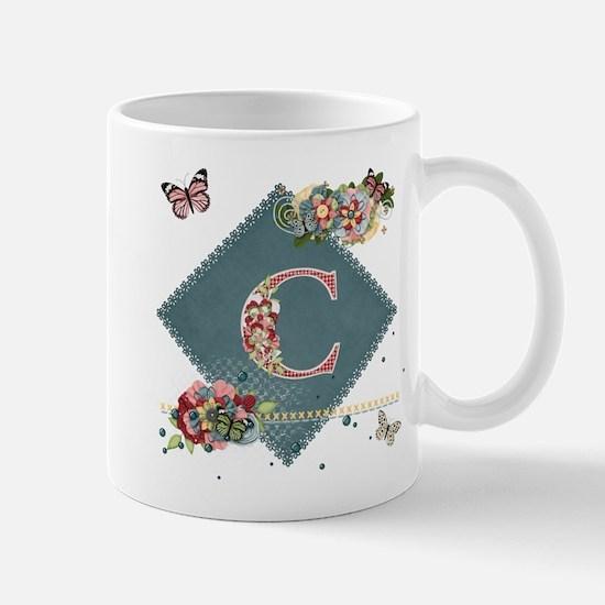 Dreamland Monogram C Mug