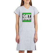 get hyphy lg green Women's Nightshirt