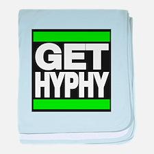 get hyphy lg green baby blanket