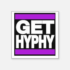 get hyphy lg purple Sticker