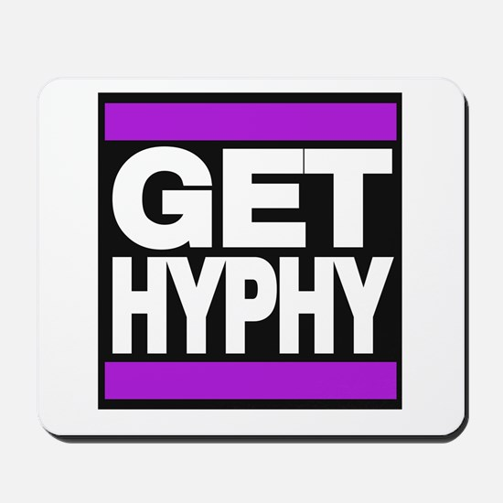 get hyphy lg purple Mousepad