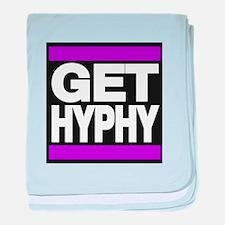 get hyphy lg purple baby blanket
