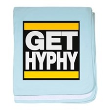 get hyphy lg yellow baby blanket
