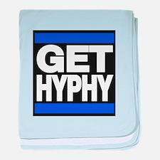 get hyphy lg blue baby blanket