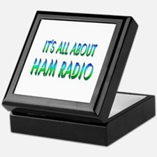 About Ham Radio Keepsake Box