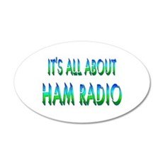 About Ham Radio Wall Decal