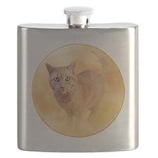 Cat in Moon Flask