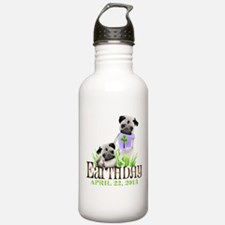 Earth Days PUGS 13 Water Bottle