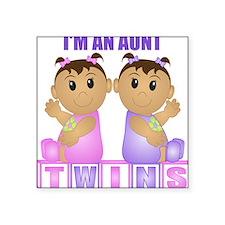 I'm An Aunt (TGG:blk) Rectangle Sticker