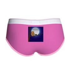 Owl Moonlight Women's Boy Brief