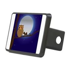 Owl Moonlight Hitch Cover
