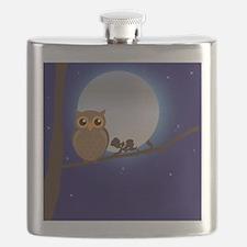 Owl Moonlight Flask