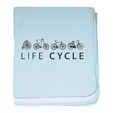 LIFE CYCLE baby blanket