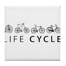 LIFE CYCLE Tile Coaster