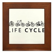 LIFE CYCLE Framed Tile