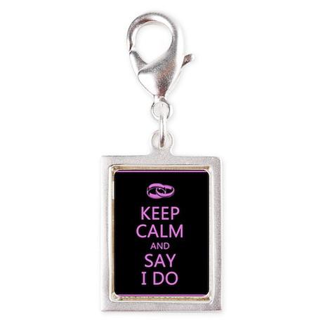 Keep Calm Wedding Charms