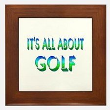 About Golf Framed Tile