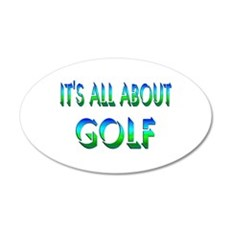 About Golf Wall Decal