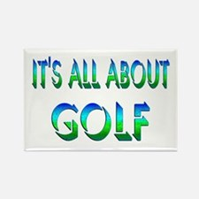 About Golf Rectangle Magnet